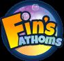 Fin's Fathoms logo v3 (2019).