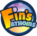 Fin's Fathoms mobile logo v3 (2019).